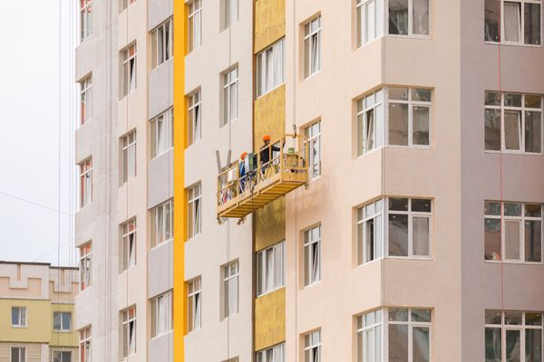 Fassadenmonteure